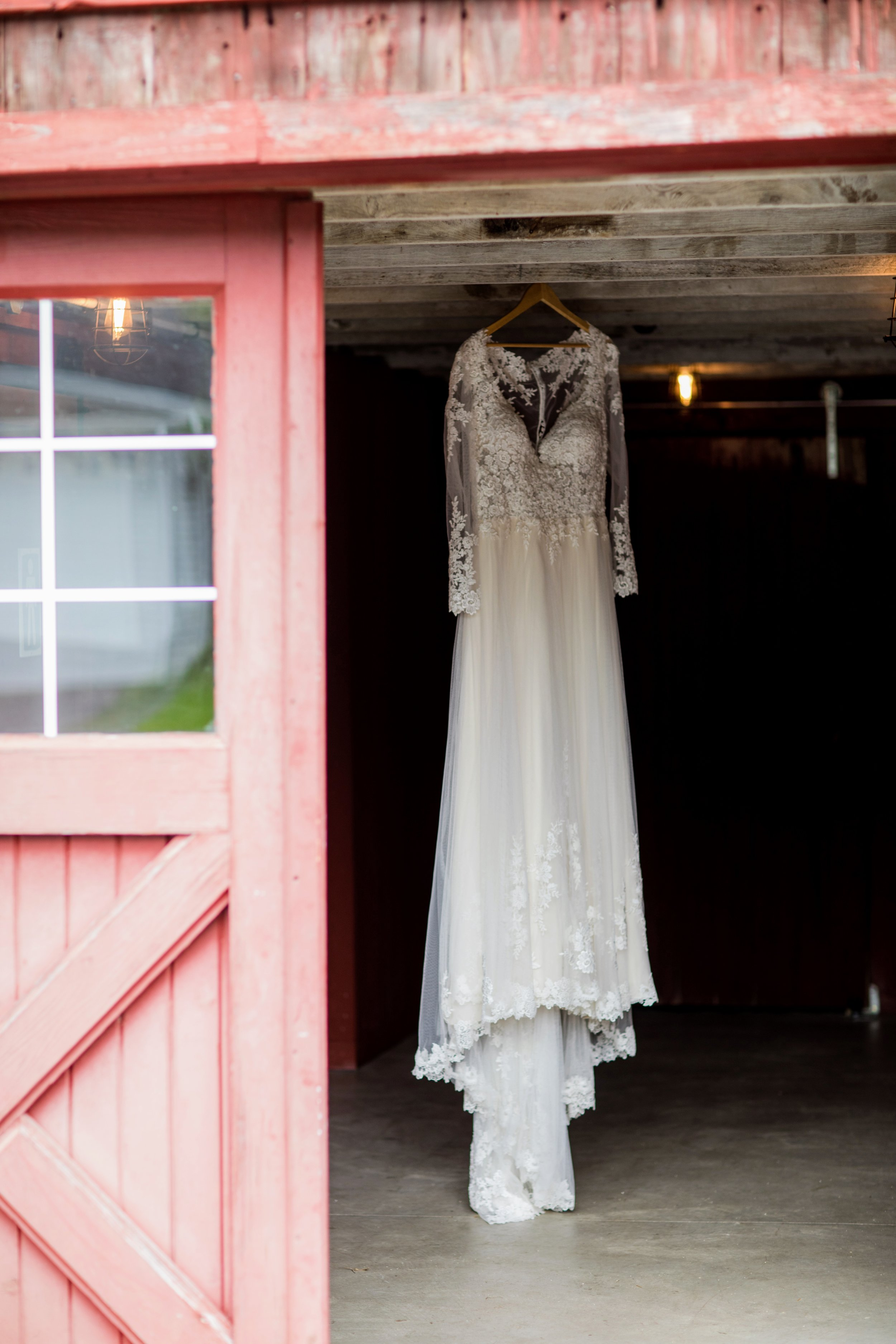 The Dress at Back Acres Farm