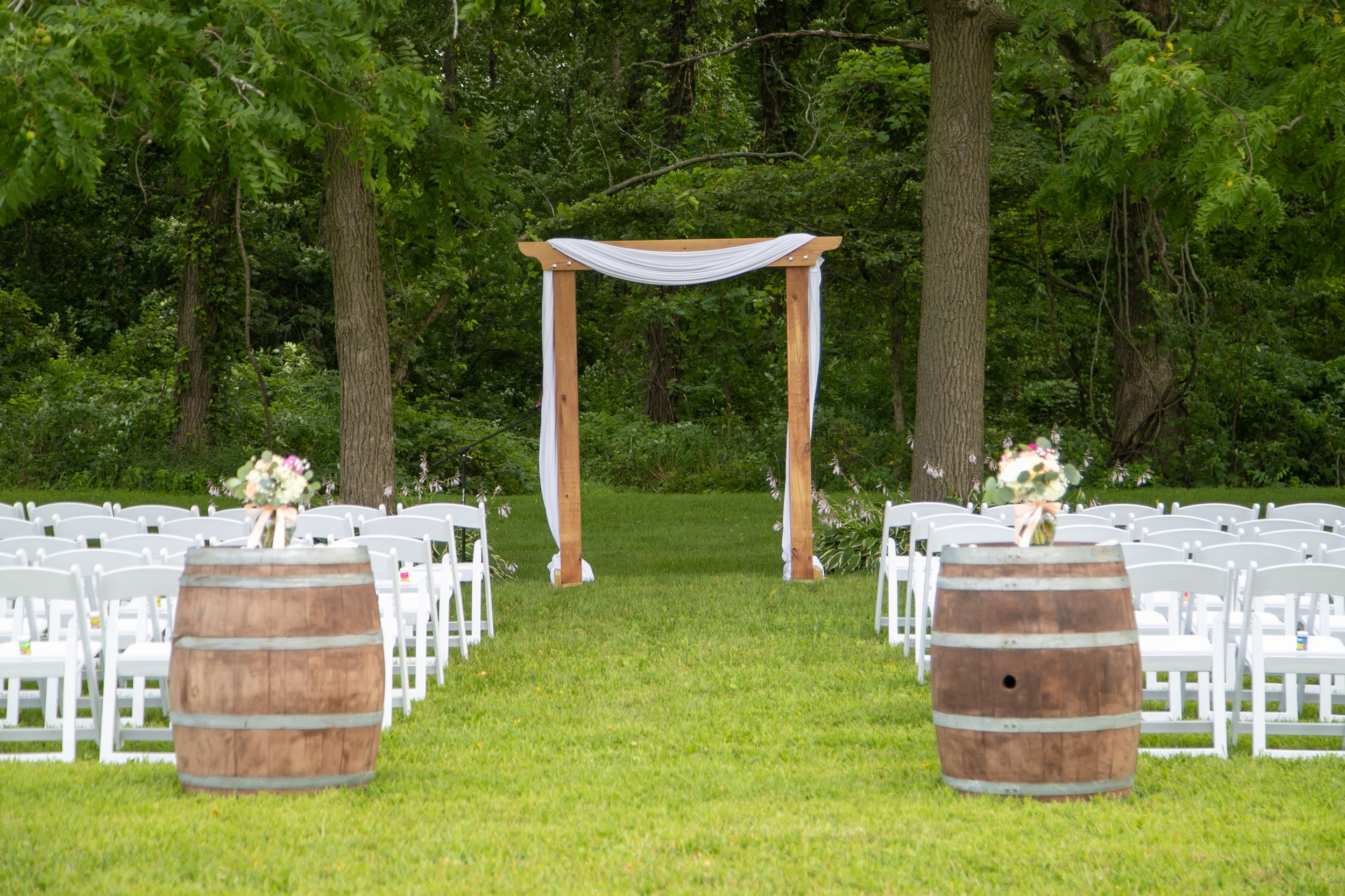 Outdoor Ceremony Site