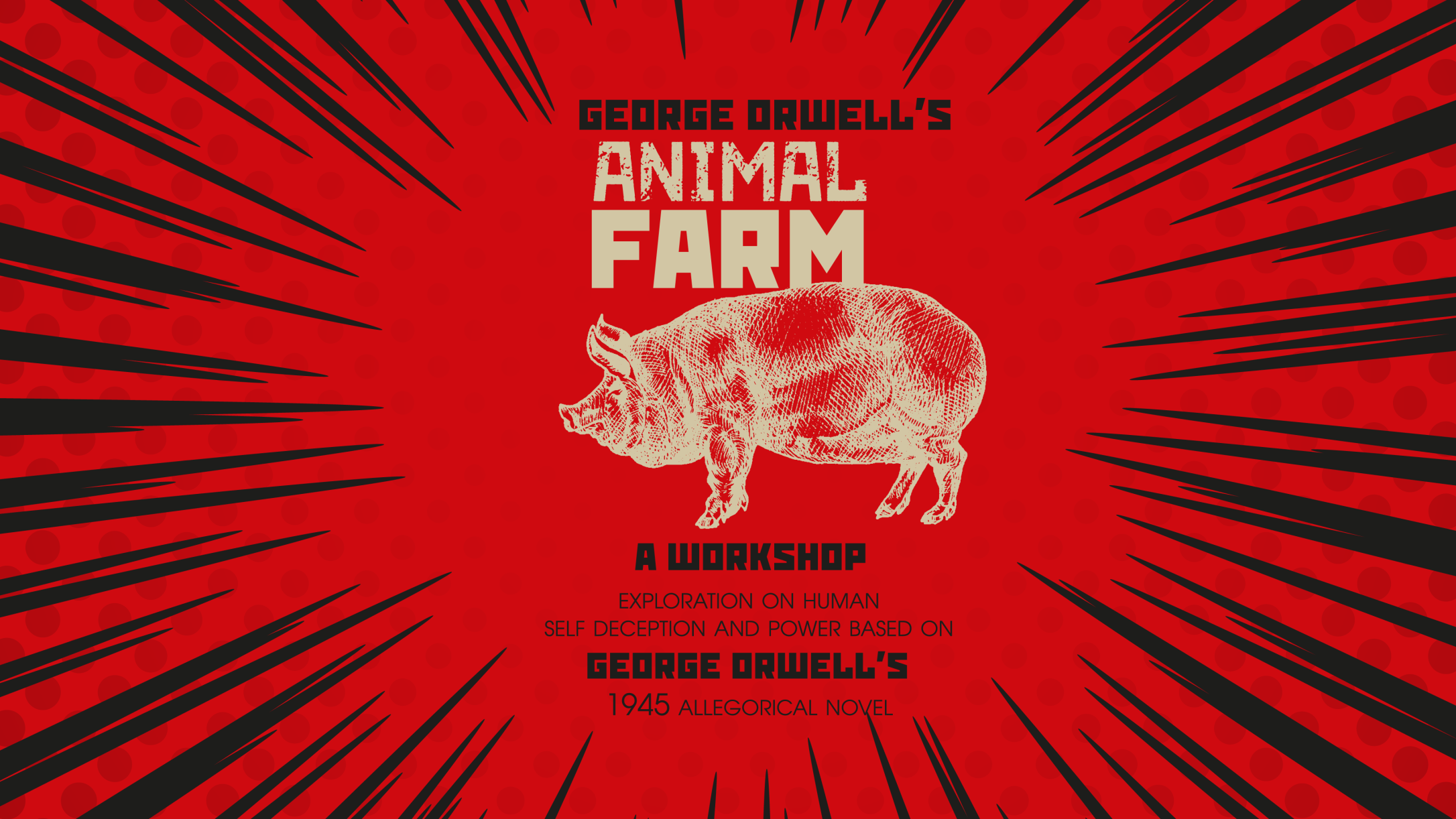 ANIMAL FARM - Developed by the Nostos Ensemble (@nostosensemble) in Stara Zagora, Bulgaria at the first stage of the International Creative Lab: Orwell Studio, funded through the Bulgarian-American Exchange Program, administered by the Art Office Foundation, and supported by Pace School of Performing Arts.Led by:Veselka Kuncheva (Director)Marieta Golomehova (Stage/Props Design)Hristo Namliev (Music)Featuring: Nolan Atterbury, Kyle Best, Sophia Carlin, Alex Church-Gonzales, Ryan Cook, Chloe Gluchanicz, Abby Gumpper, Madi Hall, Robert Hamlin, Jordan Hudec, Chance Riley Kester, Melissa Myers, Kelly Ng, Asha Printup, Jade Rodriguez, Tamar Rubin, Yoni Weiss