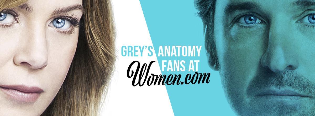 Women.com 'Grey's Anatomy' Fanpage Banner