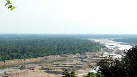 A glimpse of the Sylhet Town in Bangladesh