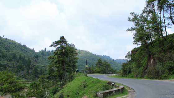 Towards Shillong