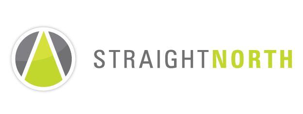 Straight North