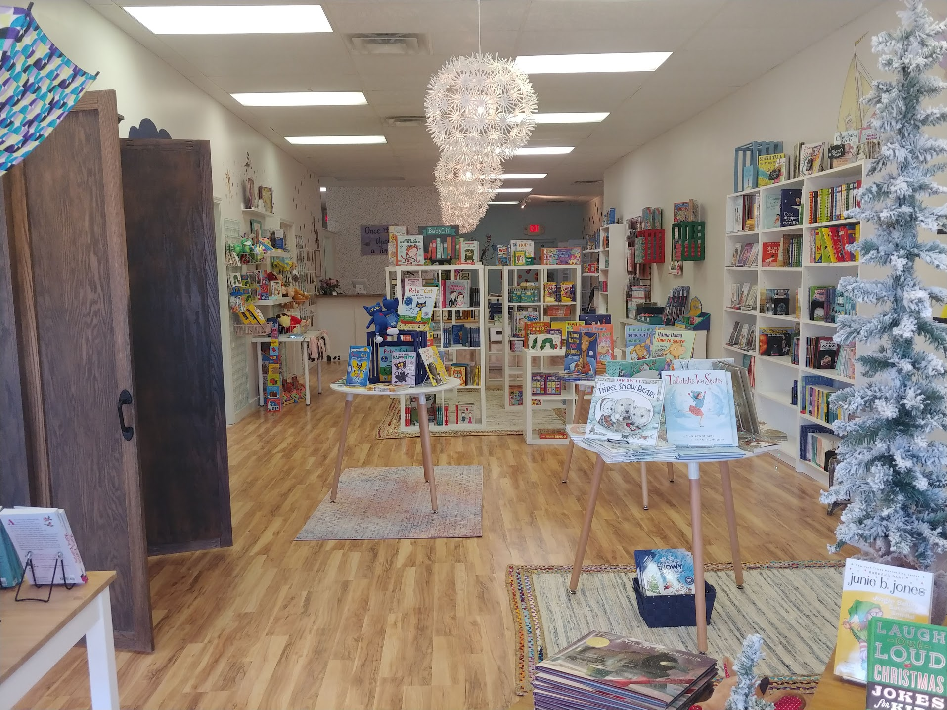 A pic that captures the store from the door to the checkout desk!