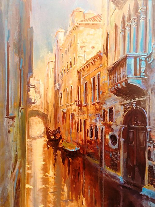 Leon Holmes, Venice Gold #19.