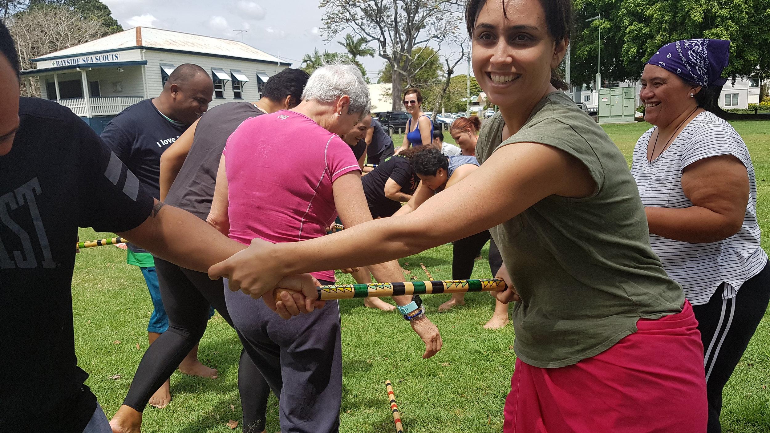 Copy of Fun with Rakau at the Mirimiri Workshops