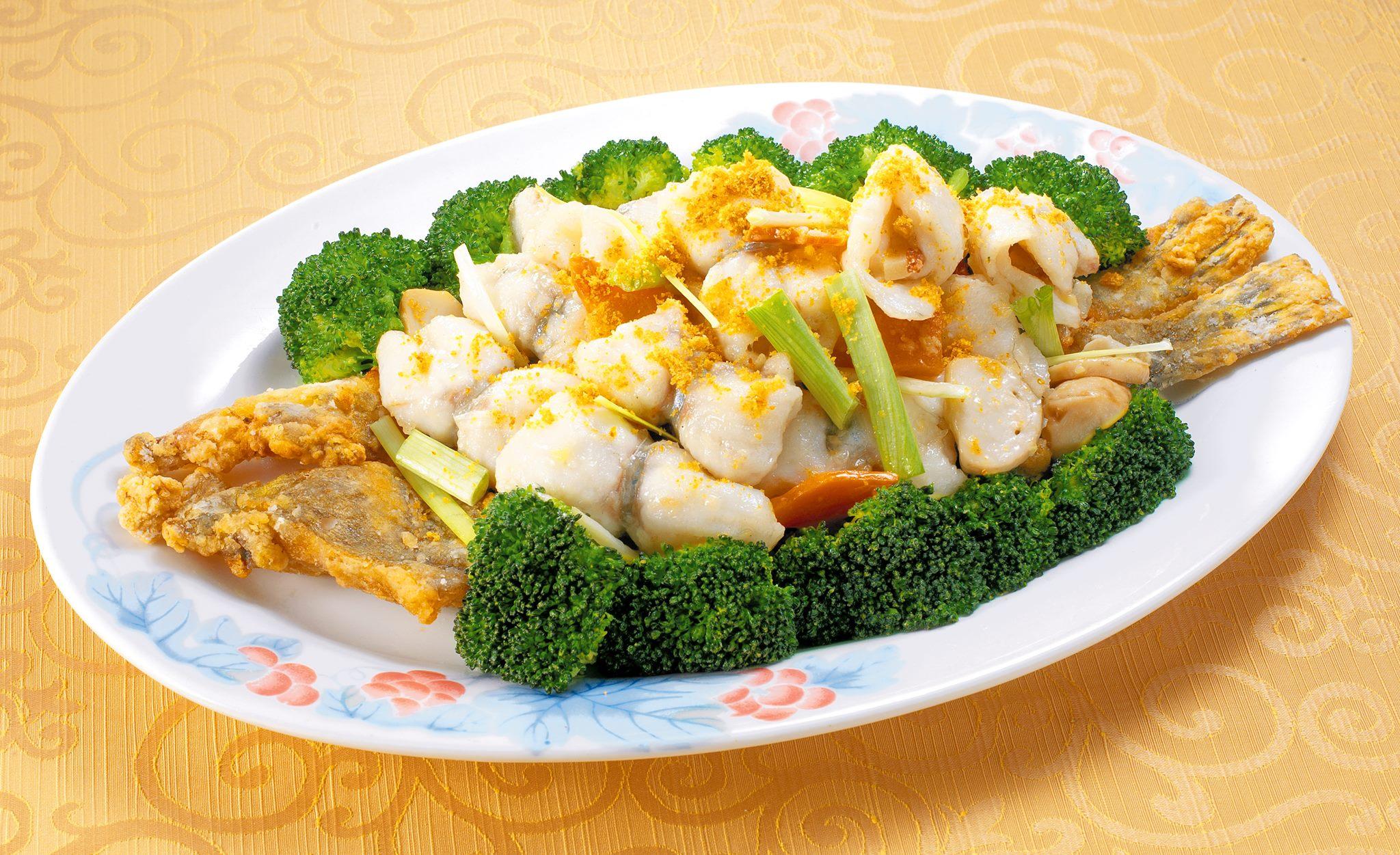 生炒桂魚卷