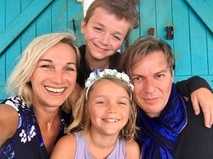 Lionel, Gustave, Violette   #Famillle #Love