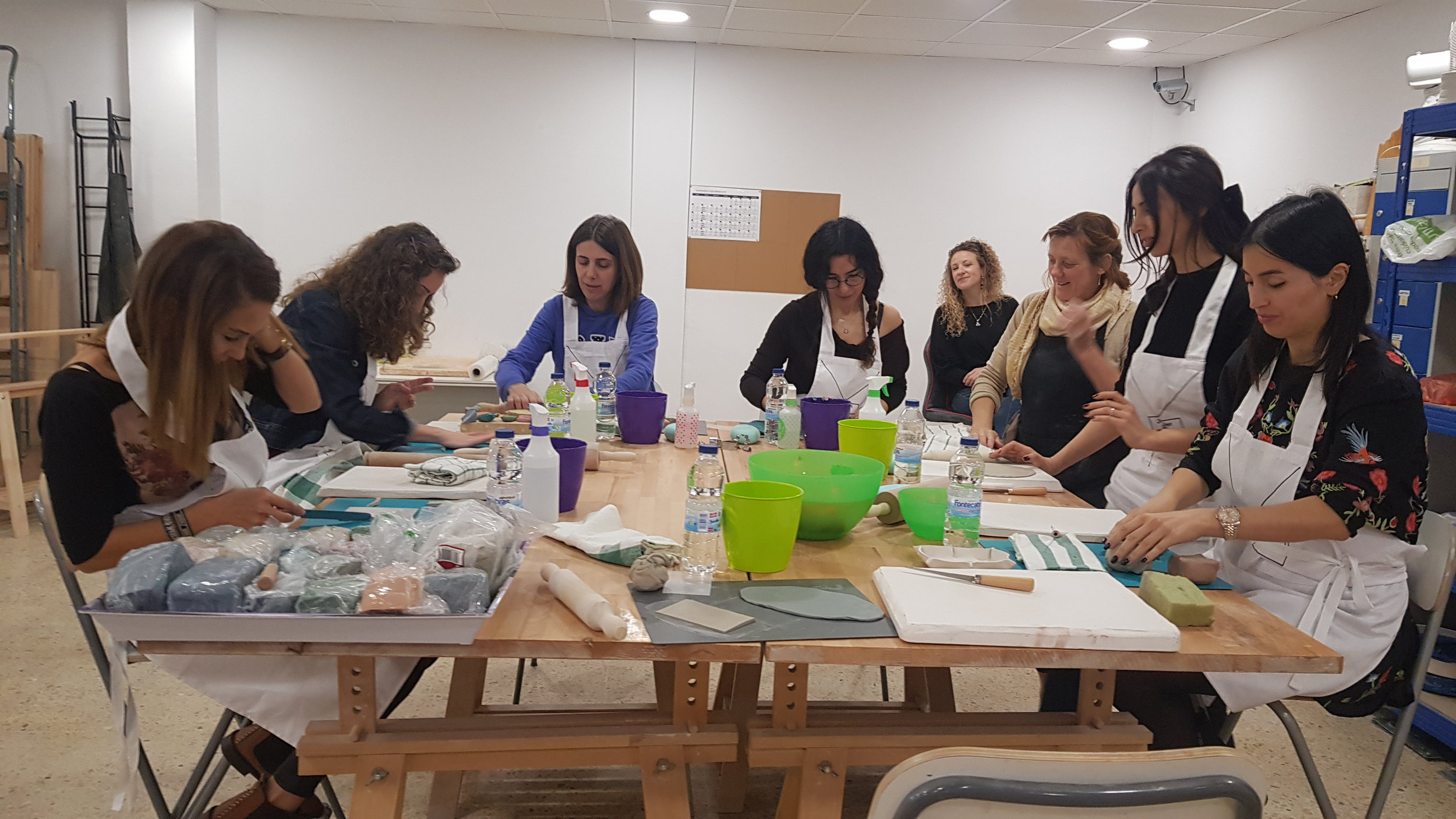 Jo and Ren Ceramica workshop March 2019