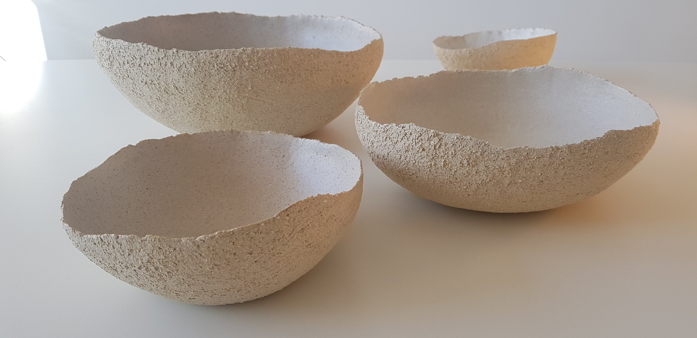 White Earth Bowl Medium Size , White Earth Bowl Big Size, White Earth Bowl XL Size