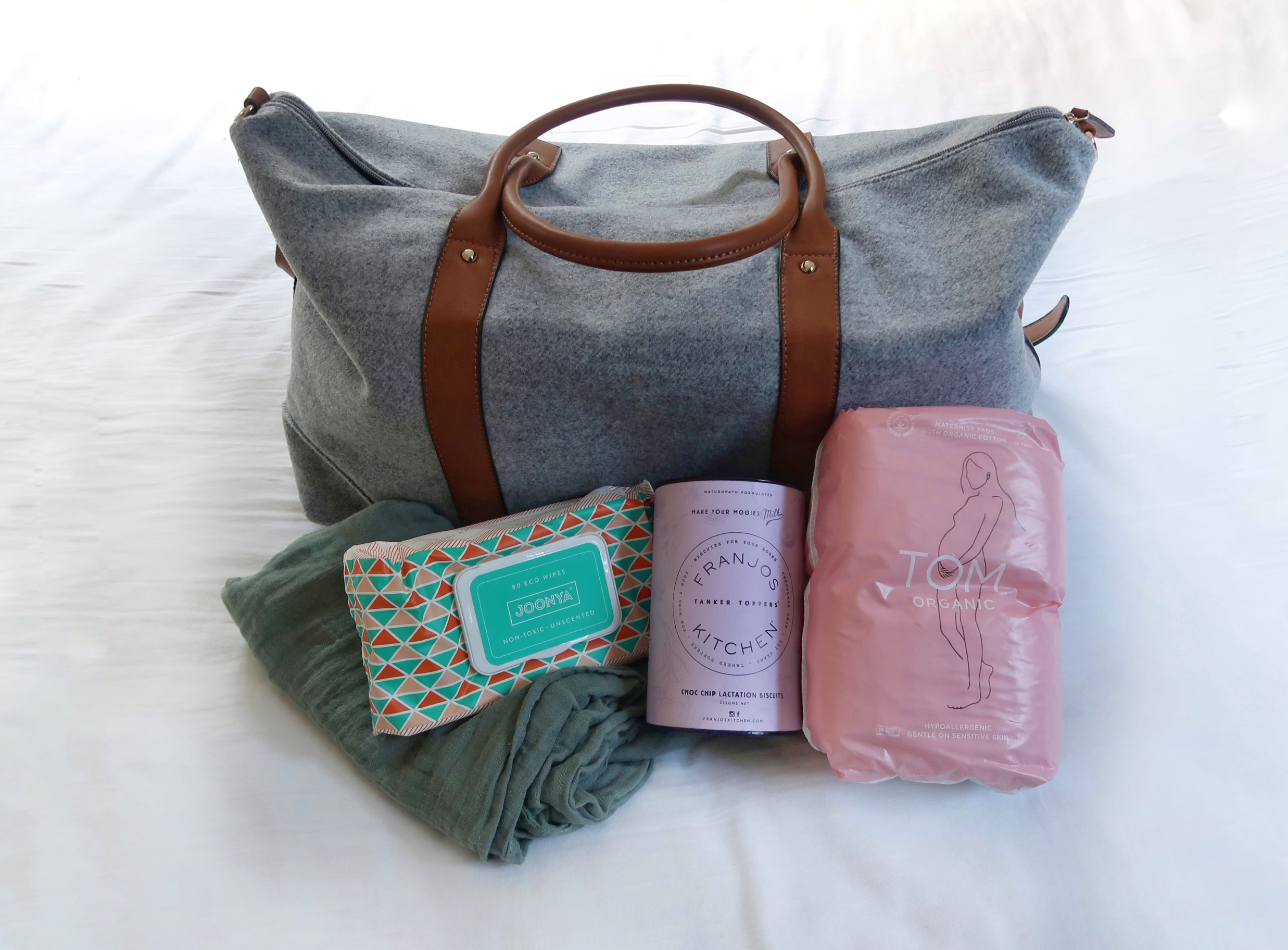 Hospital Bag Checklist - For a Planned Natural Birth