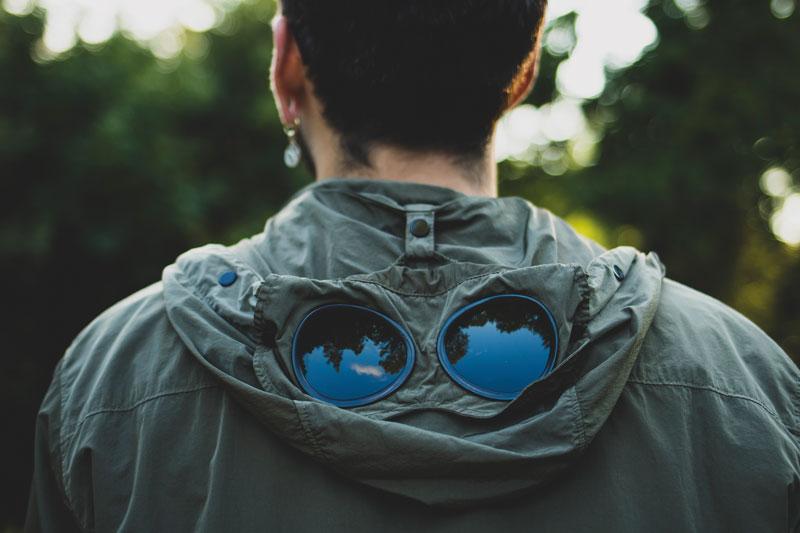 C.P. Company goggle jacket / £400
