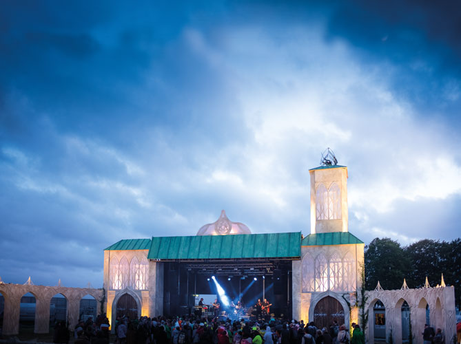Lucid Created the Lighthouse Stage at Boomtown Festival 2019