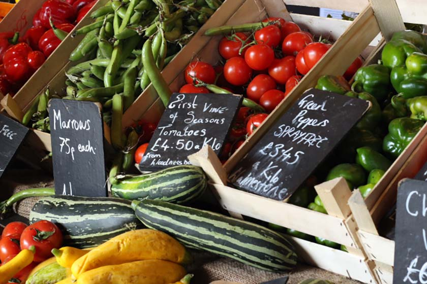 Fresh, local, seasonal, unpackaged at the Goods Shed