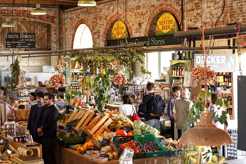 Local vendors - from cheese, to bread, veg, nose-to-tail butchery and more