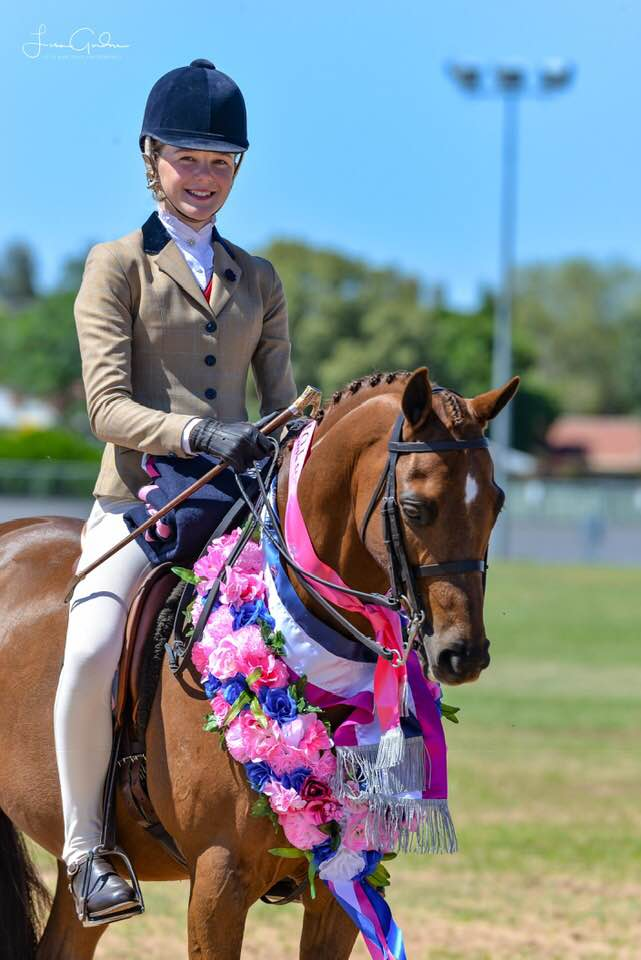 Beckworth Commanding Flame and Gracie Goodyer - Photo Credit Little More Grace Photography