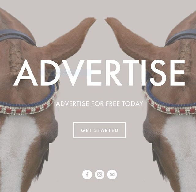 Don't forget you can now advertise even easier with Everything Show Horse. Free straight from your mobile. Visit us today! #showhorse #everythingshowhorse