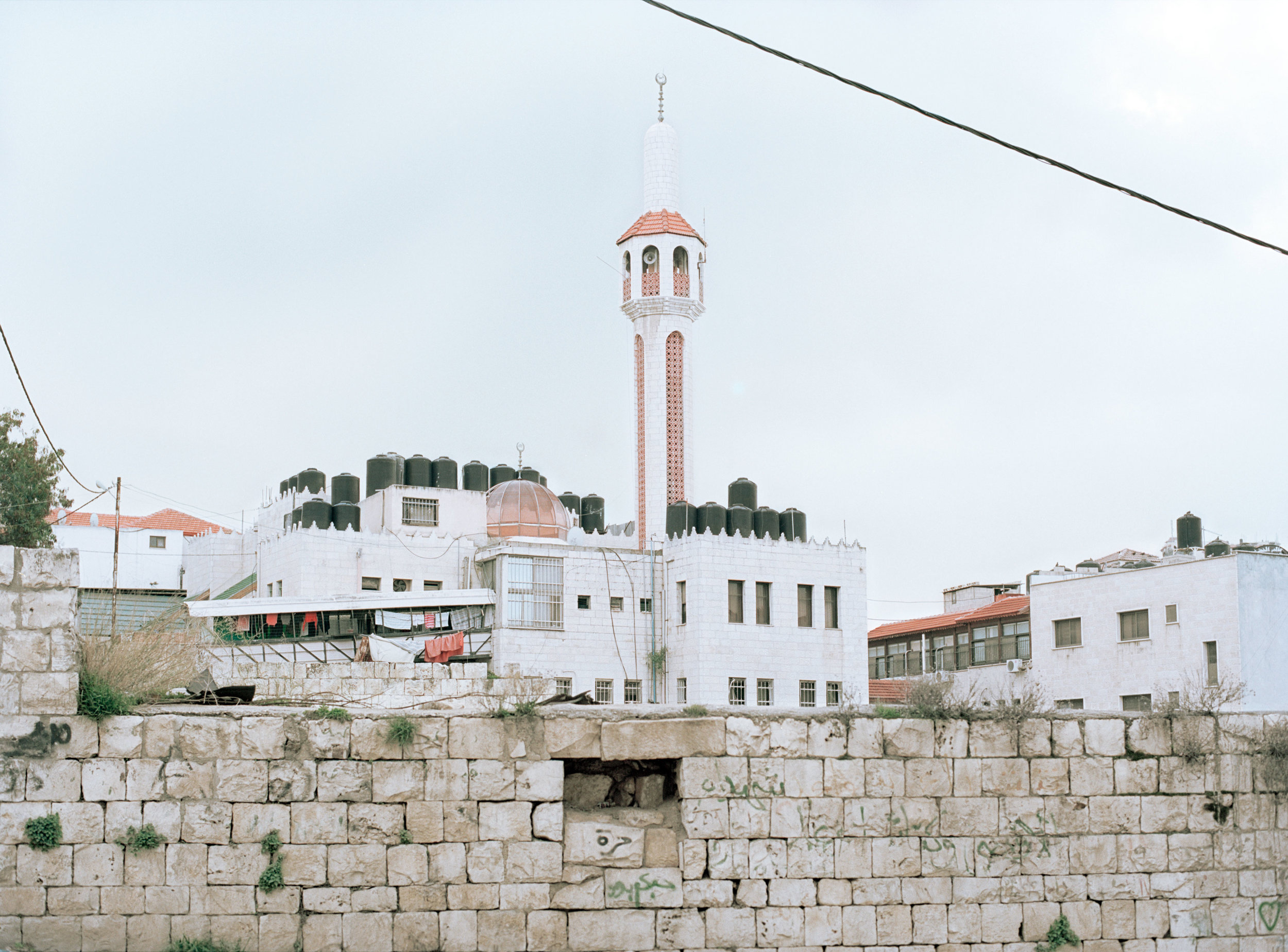 Mosque, Jenin refugee camp