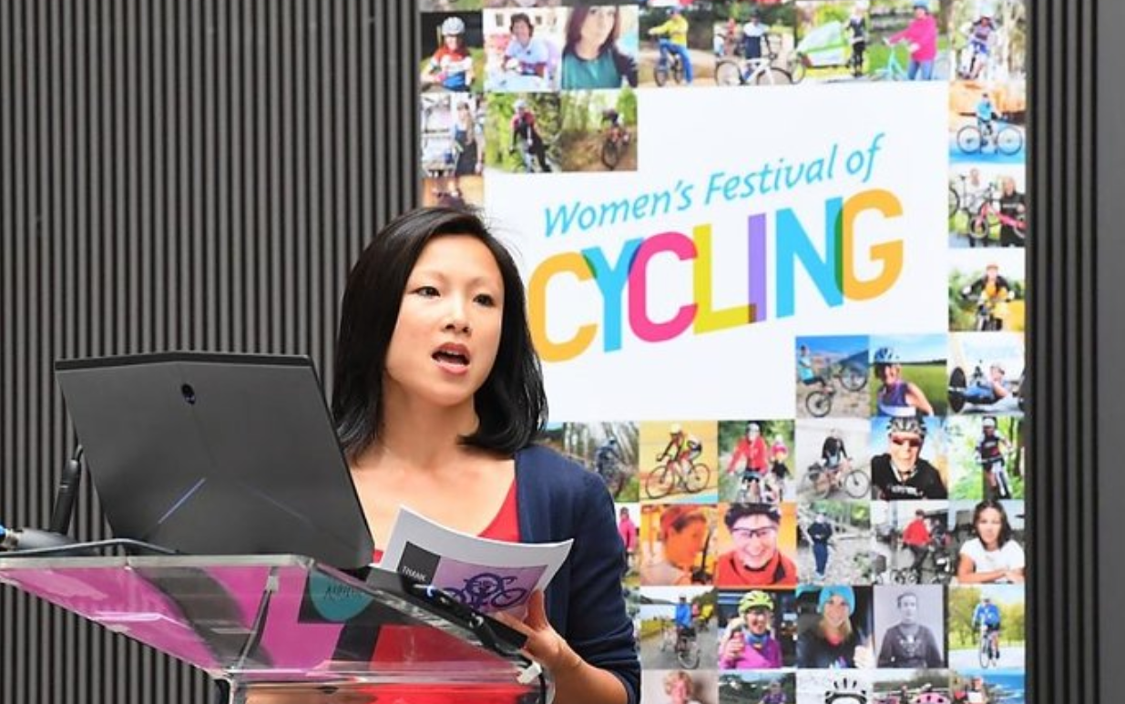 I delivered the keynote speech at Cycling UK's Women's Festival of Cycling in Manchester in June 2018.
