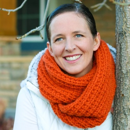 Chunky mobius cowl by Flax & Twine