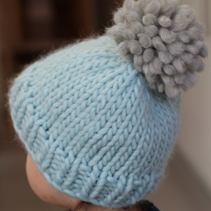 Easy bobble hat pattern by Curious Handmade