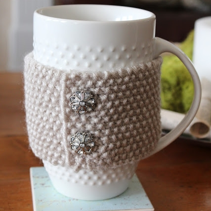 DIY cup cozy by Setting for Four