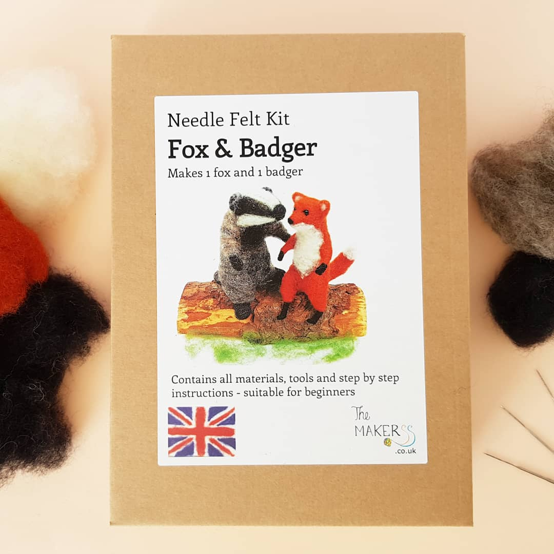 Cosy Craft Club needle felting kit