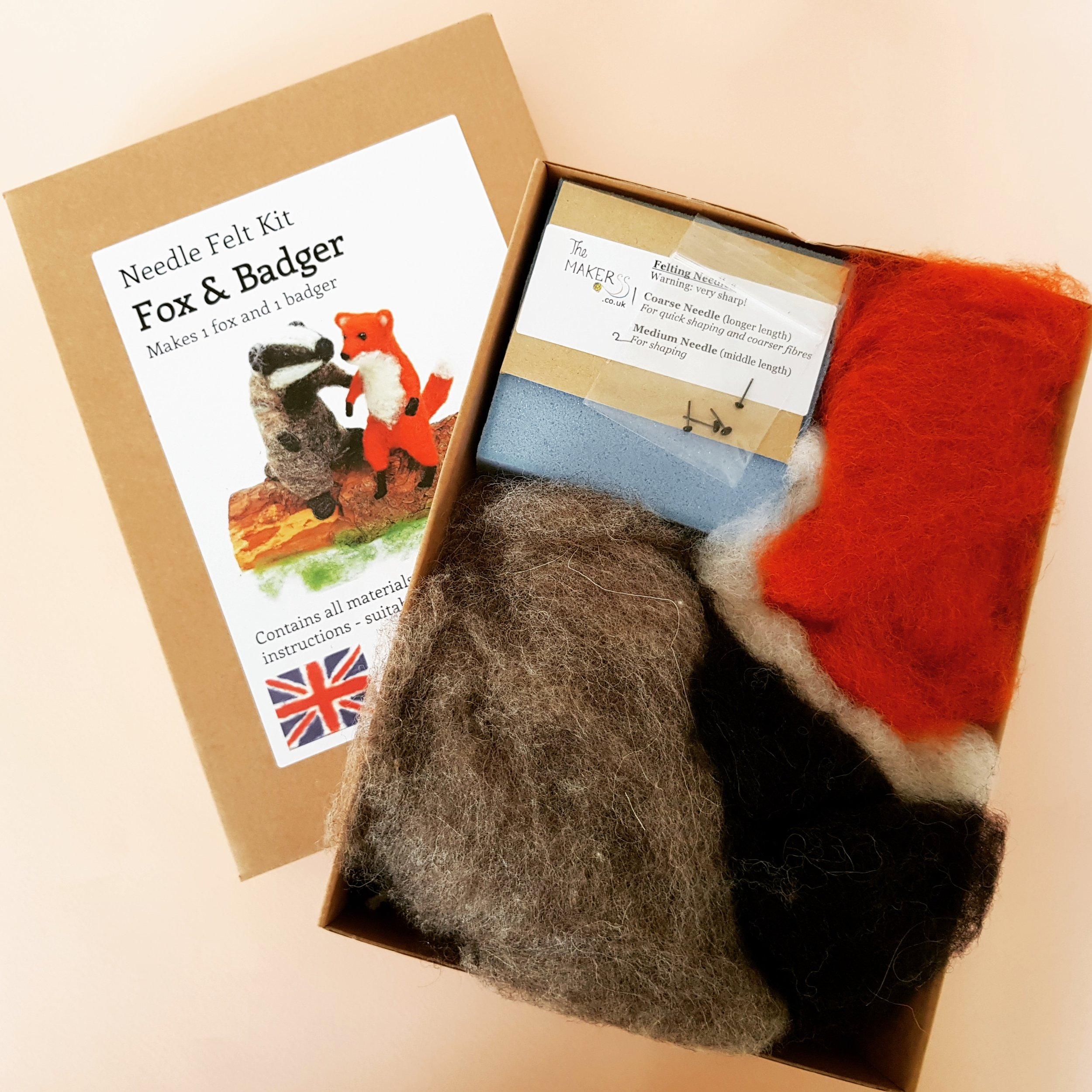 Cosy Craft Club needle felting box open