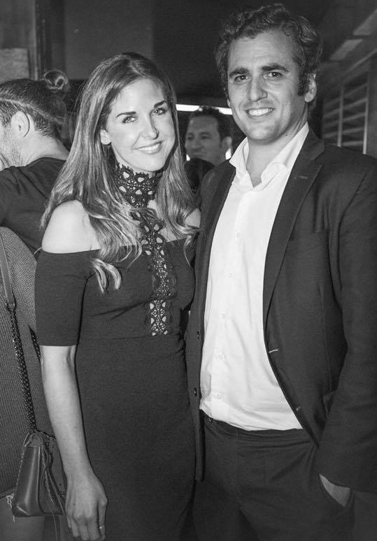 lara asprey and her husband at the launch of the ultimate matchmaker at the chelsea lodge