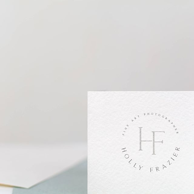 A simple and classic monogram logo for @hafrazier that I really should have posted about months ago! 🤦🏼‍♀️Make sure you take a look at the lovely little watercolor compass to accompanying her whole brand suite. . . . #customlogo #monogramlogo #classiclogo #watercolor #compassdesign #compasslogo #newbrand