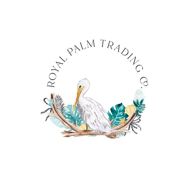 So yesterday I was all about autumn. Today I'm all about the beach! Take me back there! Specifically to where this gorgeous new brand is about to be housed. I simply had to share this new custom hand painted logo with you guys. Oh and of course it includes a wonderful monogram! Good luck on your business venture @royalpalmtrading. I'll be sure to be following you . . . . . #customlogo #custombrand #watercolorlogo #beachlogo #seasidelogo #newbranding #watercolor #dowhatyoulove #artist #logo