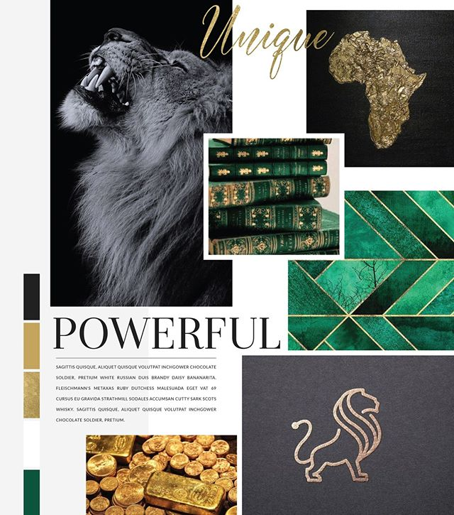 #Moodboardtuesday - is that a thing?  no?  Oh well... i just had to share this one a little bit late.  Excited to get stuck into a new logo design today #lionlogo #newdesign #custombrand #logodesigner