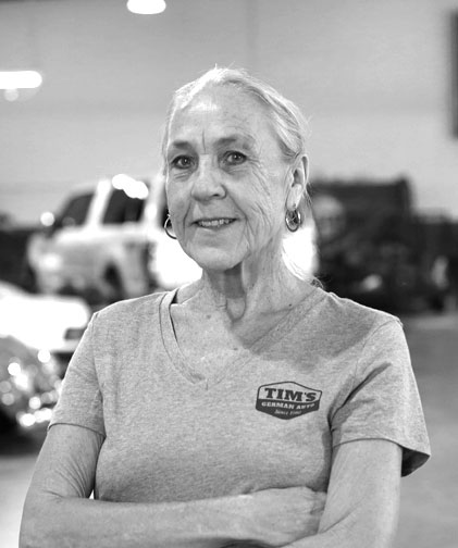 Janice Shields / Office - Shop Associate  Joined Tim's German Auto in 2018