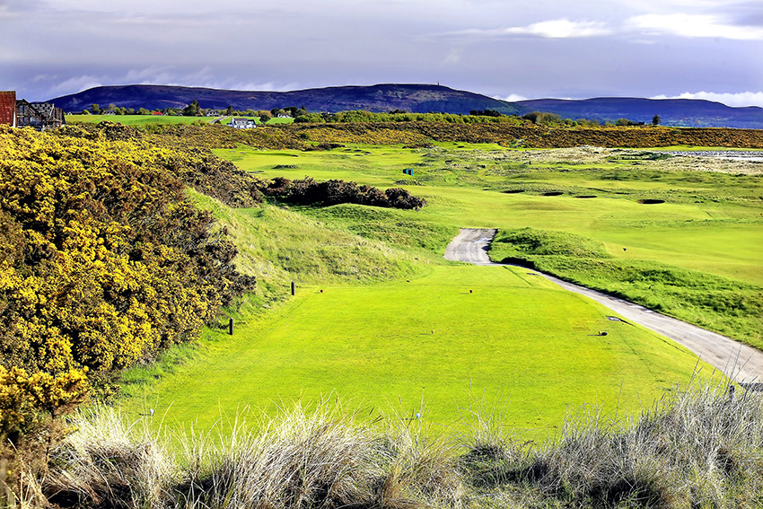 The scenic 3rd at Royal Dornoch Golf Club is one of the few holes to have been tweaked in recent times.