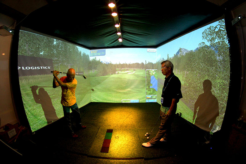 Indoor golf is a solution to the sustainability concerns surrounding golf.