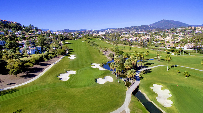 Formerly a short par 5, the 3rd at Las brisas is now an exacting two-shotter.