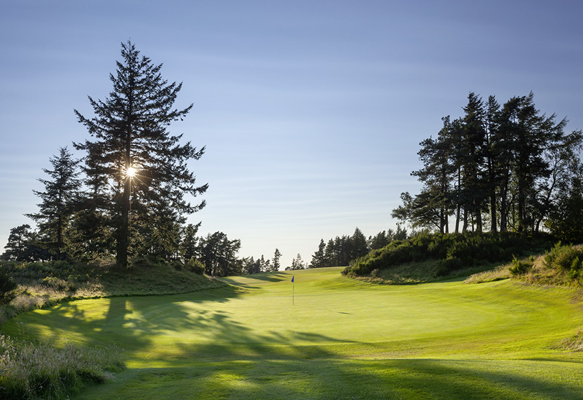The 10th hole at Gleneagles' Queen's course.