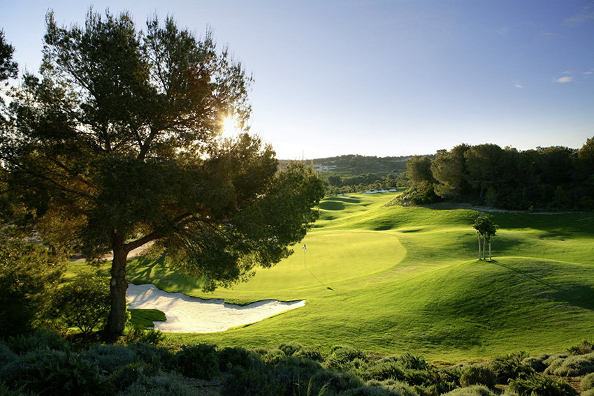 The opening hole at Las Colinas in the Costa Blanca, Spain.