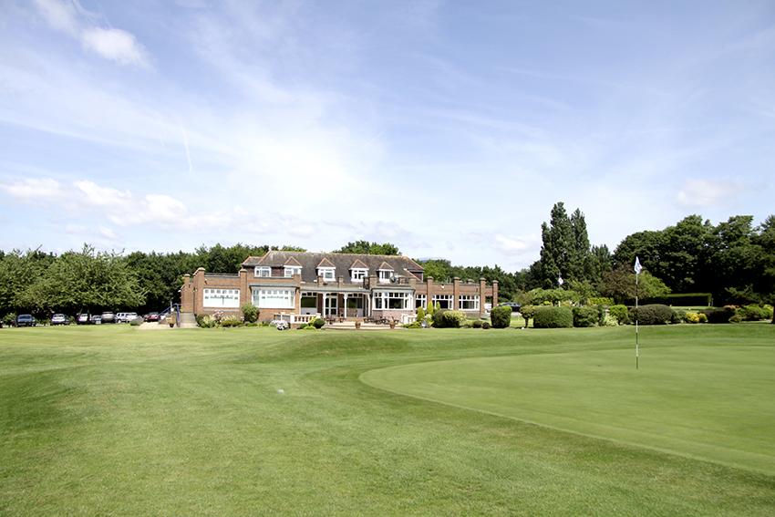 Verulam Golf Club, in Hertfordshire, England.