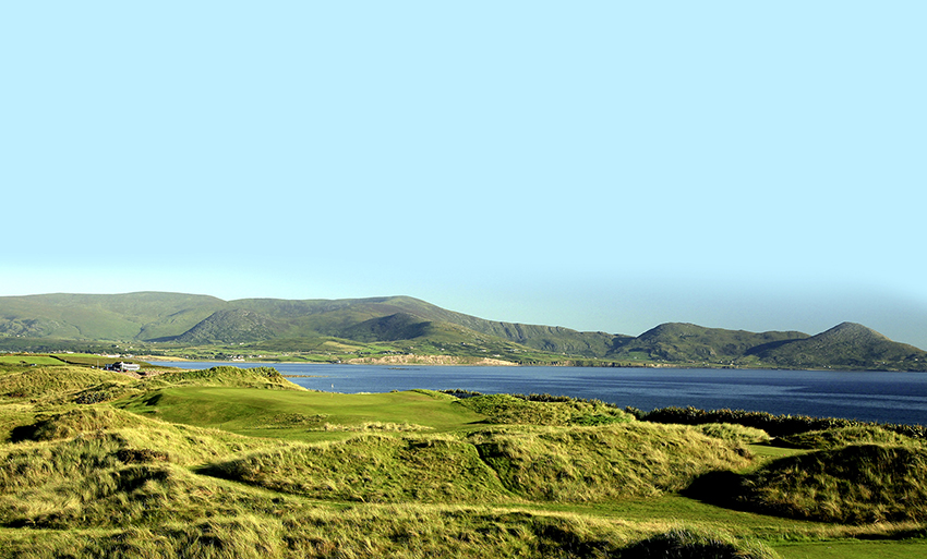 The famous Waterville Links in County Kerry, Ireland.