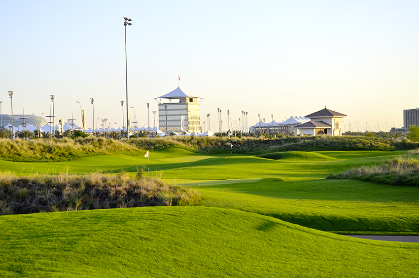 The Kyle Phillips-designed Yas Links in Abu Dhabi: More fun in less time!