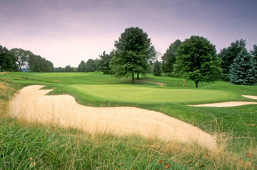 Oakmont's 5th hole in 1993…