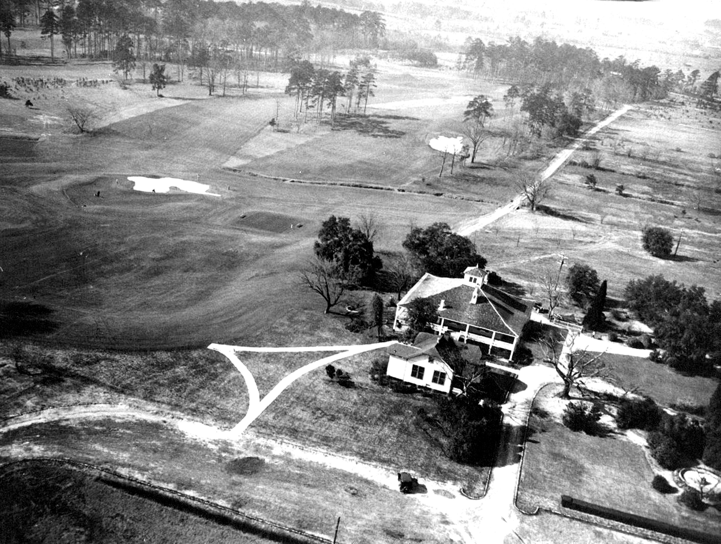 Augusta National, upon its completion in 1932.
