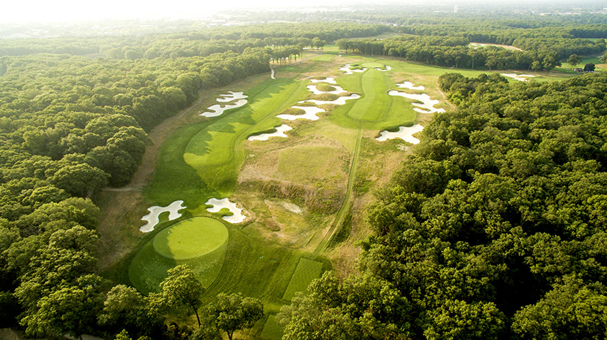 Bethpage Black, host of this year's PGA Championship, born after Tillinghast had noted a growing desire among the ordinary golfer to pit themselves against ridiculously hard courses.