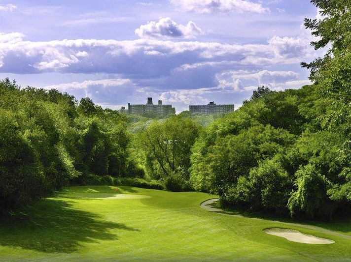 Van Cortlandt is the oldest public course in the United States.