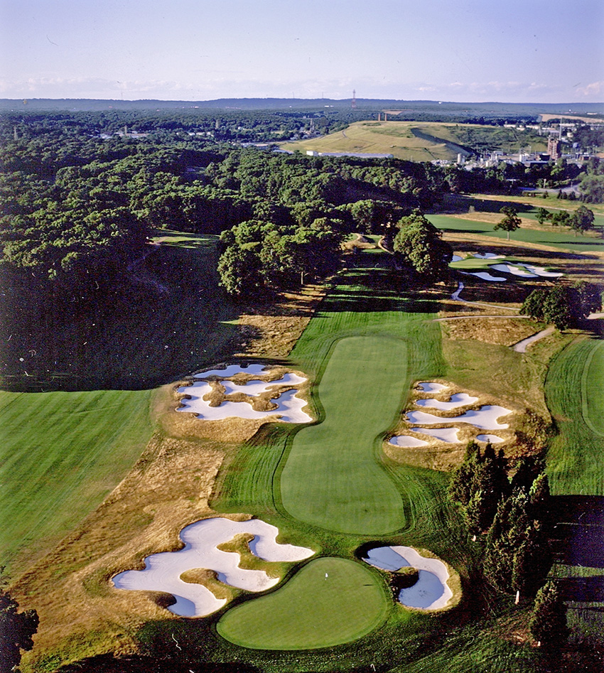 Bethpage State Park is home to five 18-hole courses, including Bethpage Black, host of the 2019 PGA Championship.