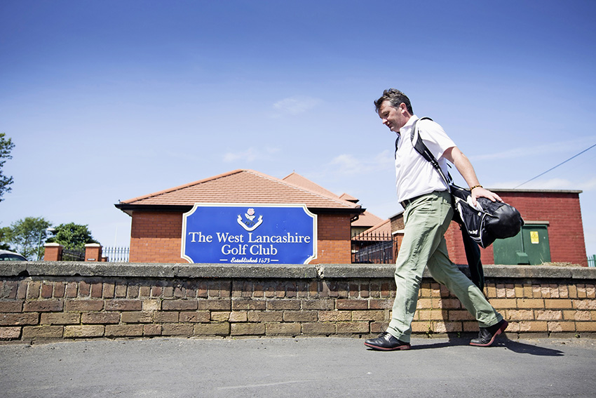 West Lancs Golf Club – just an 8-iron or so from the station!