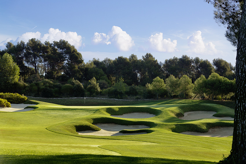 Real Club de Golf El Prat boasts 45 holes of top quality golf.