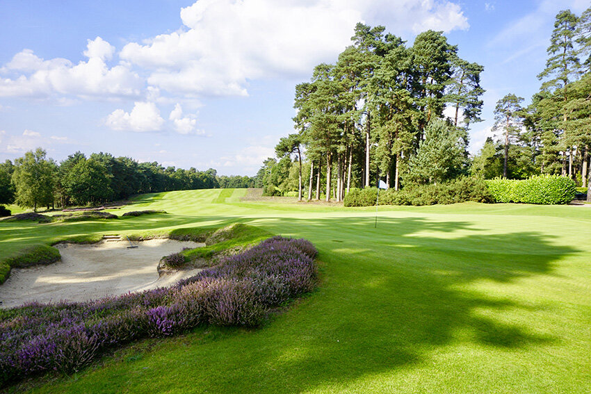 Simpson was a member atLiphook and considered it to be England's finest inland course.