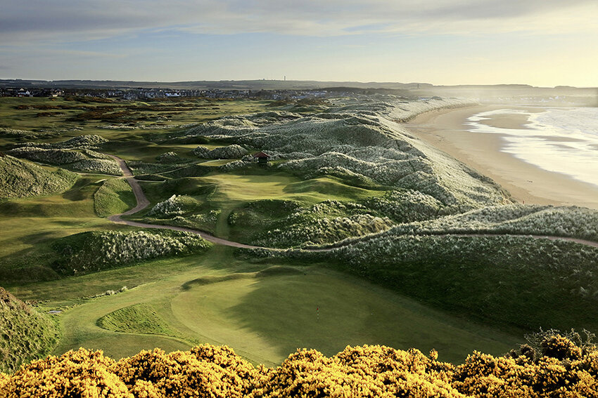 Cruden Bay in the north of Scotland.
